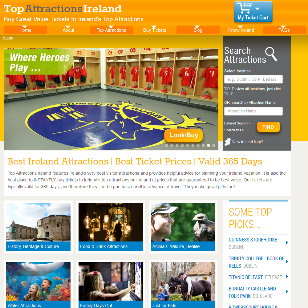 Top Attractions Ireland