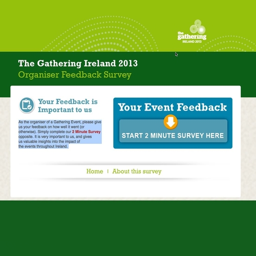 The Gathering Ireland 2013 Survey